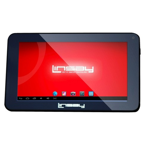 "LINSAY 7"" Quad Core Tablet Android 9.0 PIE 2GB Ram 16GB Storage - image 1 of 3"