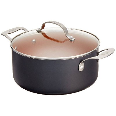 Gotham Steel Ti-cerama 5qt Pot with Lid