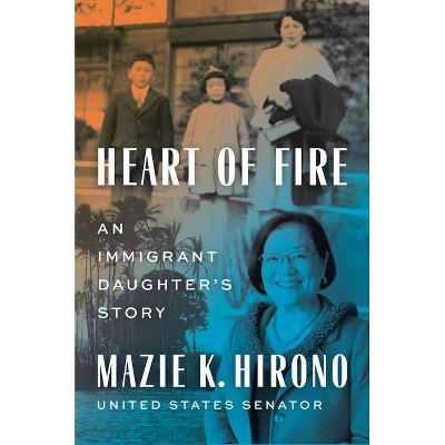 Heart of Fire - by  Mazie K Hirono (Hardcover)