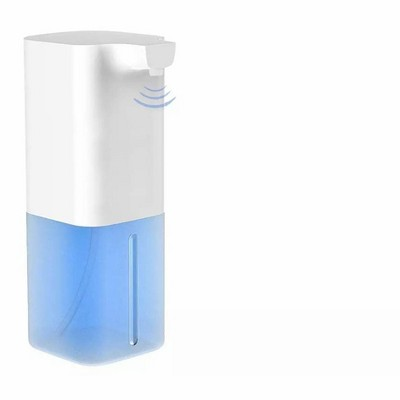 Link Touchless Automatic 350ml Liquid Soap & Hand Sanitizer Dispenser with USB Rechargeable Battery For Home, Work, School and More