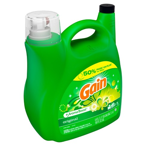 Gain Hec Original Liquid Laundry Detergent 150 Oz Target