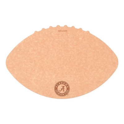 Epicurean University of Alabama 16 x 10.5 Inch Football Cutting and Serving Board