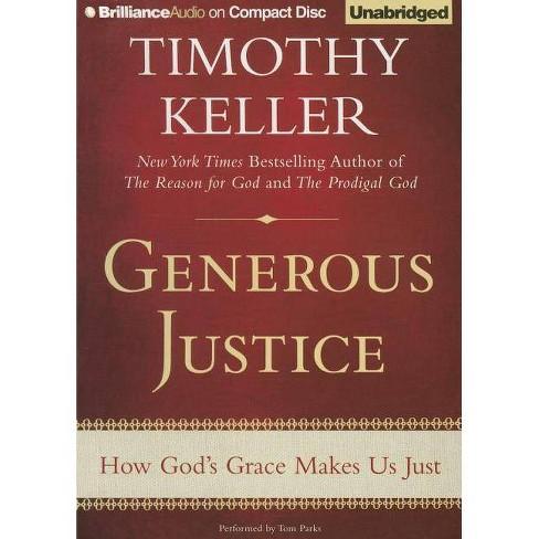 Generous Justice - by  Timothy Keller (AudioCD) - image 1 of 1