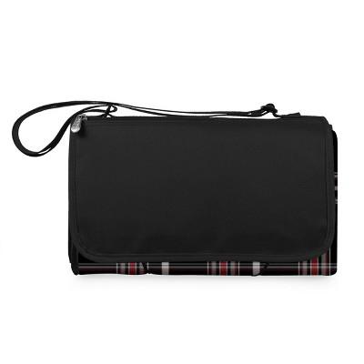 Picnic Time Blanket Tote Outdoor Picnic Blanket XL - Black