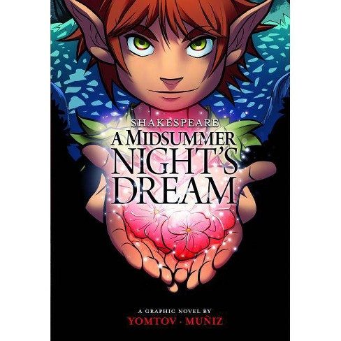 A Midsummer Night's Dream - (Shakespeare Graphics) by  William Shakespeare (Paperback) - image 1 of 1
