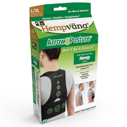 As Seen on TV Hempvana Posture Support L/XL - image 1 of 3