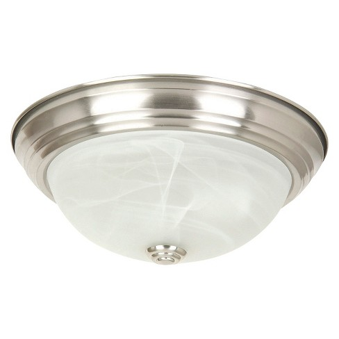 Yosemite 2-Light Flush Mount Light - Satin Nickel - image 1 of 1