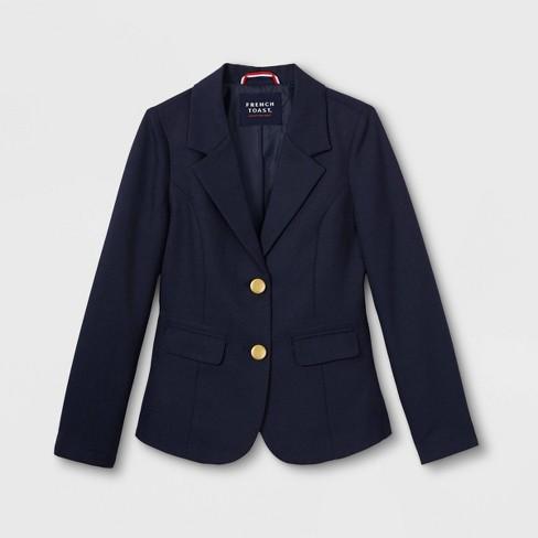 French Toast Girls' Uniform Blazer - Navy - image 1 of 2