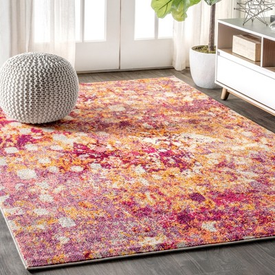 Contemporary POP Modern Abstract Area Rug - JONATHAN Y