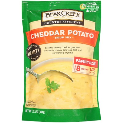 Bear Creek Country Kitchens Cheddar Potato Soup Mix 12.1oz