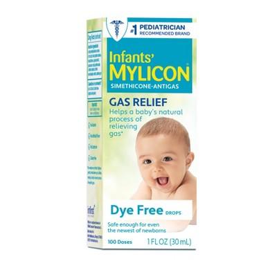 Mylicon Baby Colic Treatment Dye Free Drops - 1 fl oz