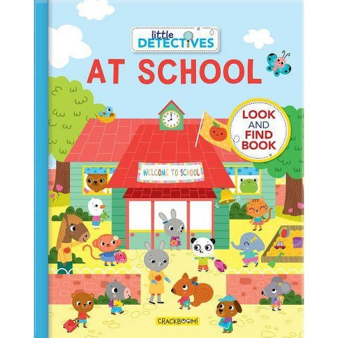 Little Detectives at School - (Board_book) - image 1 of 1