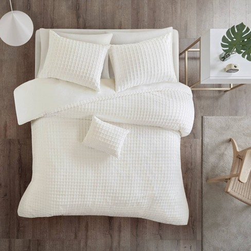 Lucy Cotton Chenille Jacquard Comforter Set - image 1 of 4