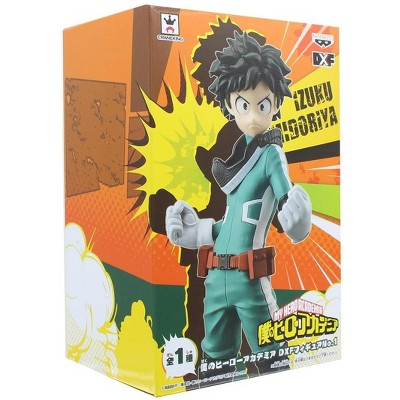 Loot Crate My Hero Academia Deku Izuku Midoriya Exclusive Banpresto 6 Inch Figure