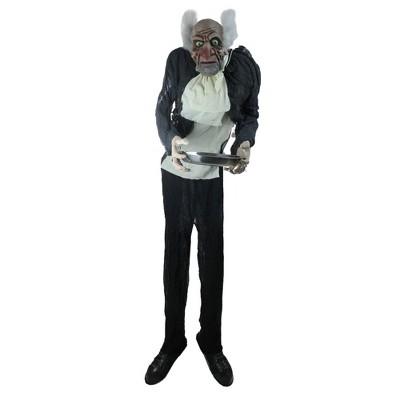 Northlight 5.5' Animated Butler Man Halloween Decoration