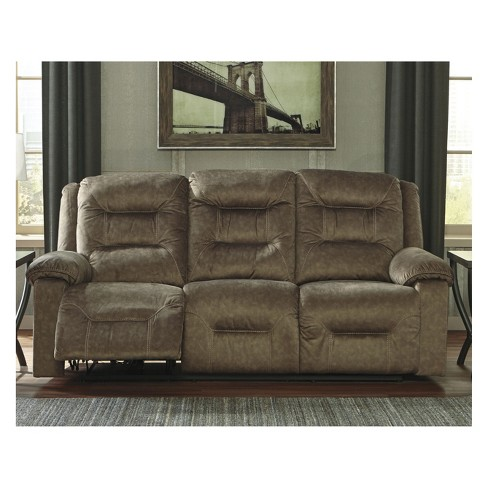 Waldheim Reclining Sofa With Adjule Headrest Signature Design By Ashley Target