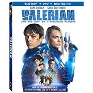 Valerian And The City Of A Thousand Planets (Blu-ray + DVD + Digital)