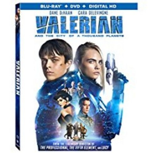 Valerian And The City Of A Thousand Planets (Blu-ray + DVD + Digital) - image 1 of 1