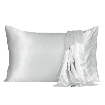 2 Pcs Silky Satin Soft Pillow Cases - PiccoCasa