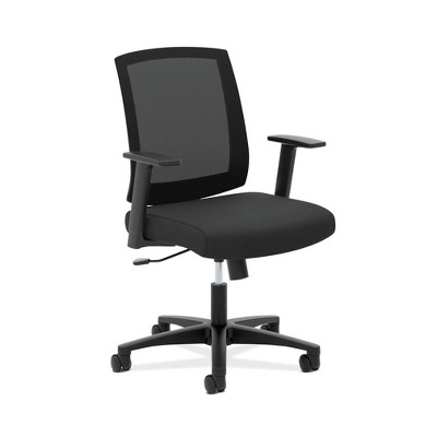Torch Mid Back Mesh Office Chair Black - HON