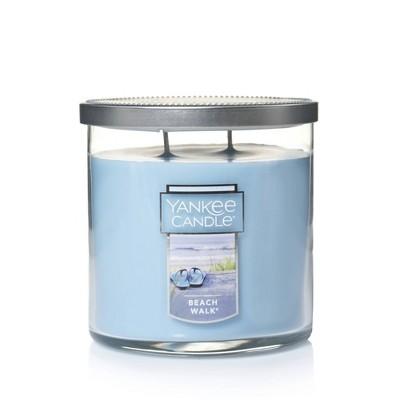 12.5oz Lidded Glass Jar 2-Wick Beach Walk Candle - Yankee Candle