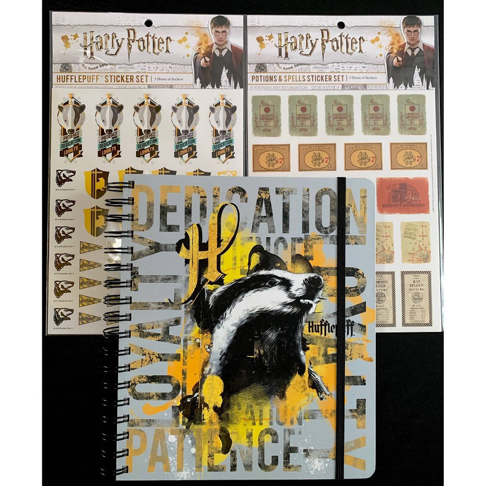 "Image of ""2020 Harry Potter Conquest Planner 7"""" x 9"""" with Stickers - Hufflepuff"""