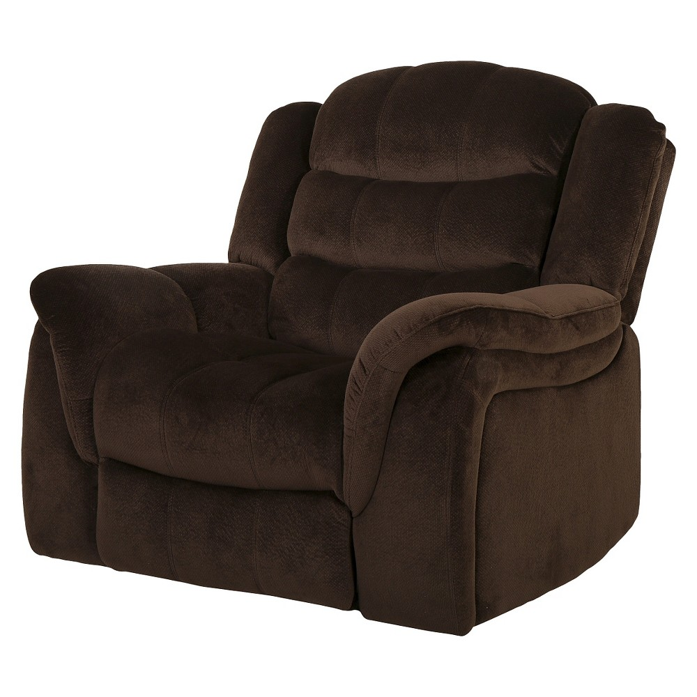 Hawthorne Fabric Glider Recliner Club Chair - Christopher Knight Home, Brown
