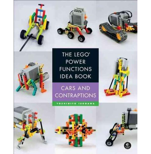 Lego Power Functions Idea Book : Car and Contraptions (Vol 2) (Paperback) (Yoshihito Isogawa) - image 1 of 1