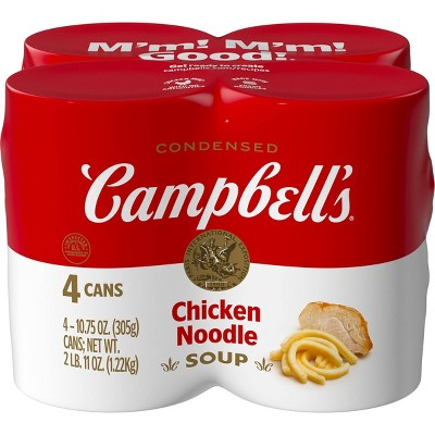 Campbell's Condensed Chicken Noodle Soup - 42oz/4pk