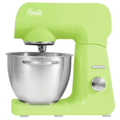 Sencor 4.7qt Stand Mixer with Accessories - Lime