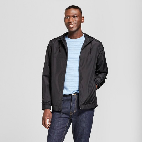 5a01b8d36 Men's Rain Jacket - Goodfellow & Co™ Black : Target