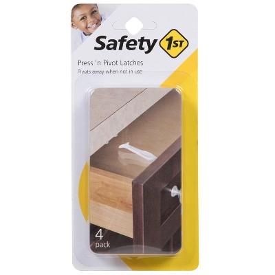 Safety 1st® - Press 'n Pivot Latches - 4pk