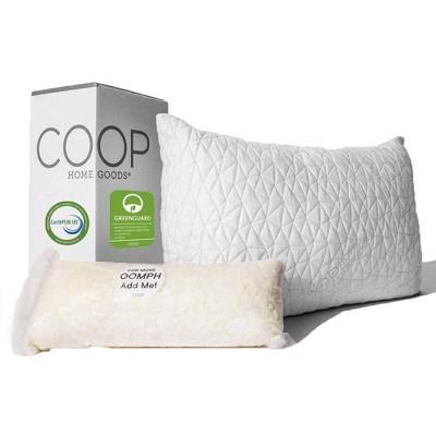Coop Home Goods The Original -Adjustable Memory Foam Pillow - Greenguard Gold Certified
