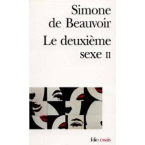 Deuxieme Sexe - (Folio Essais) by  Simone de Beauvoir & Simone Beauvoir (Paperback) - image 1 of 1