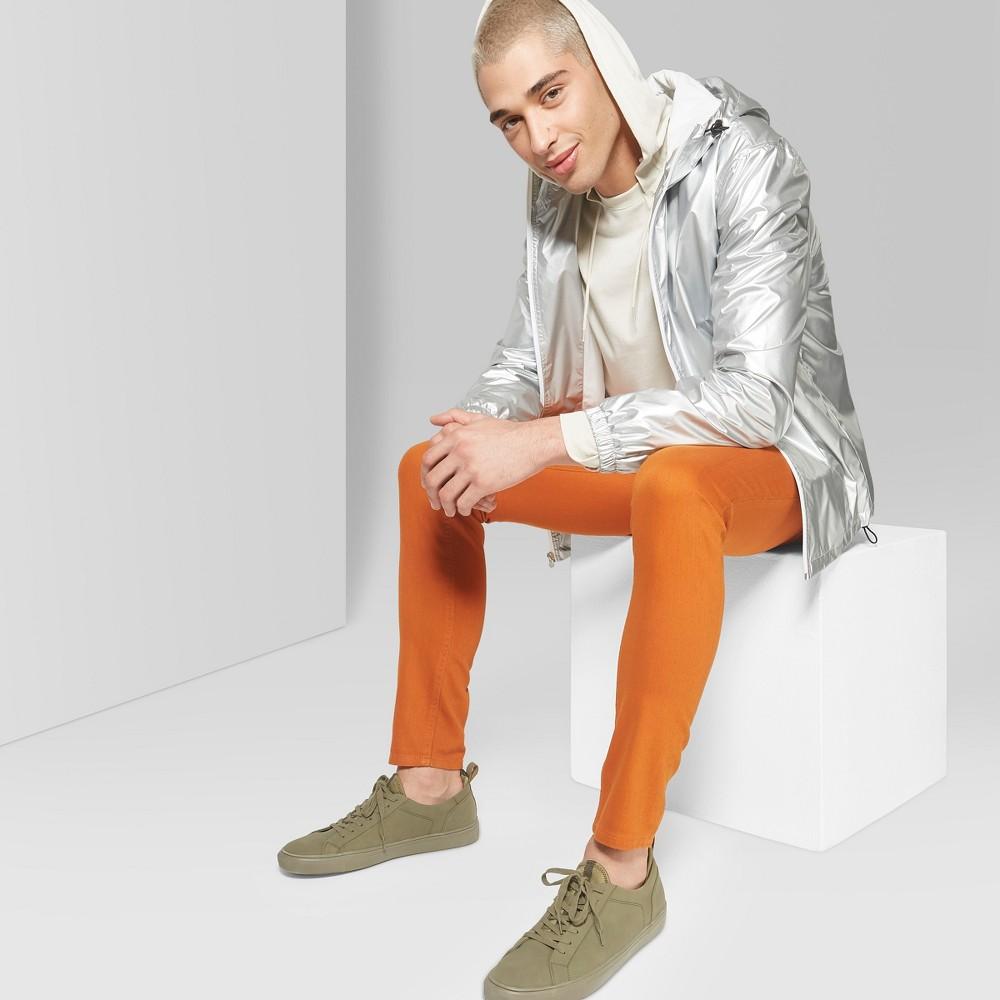 Men's Slim Fit Denim Pants - Original Use Copper Ore 34, Orange