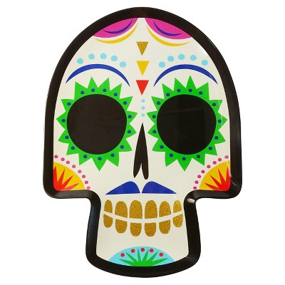 Day of the Dead Melamine Serving Platter - Hyde and Eek! Boutique™