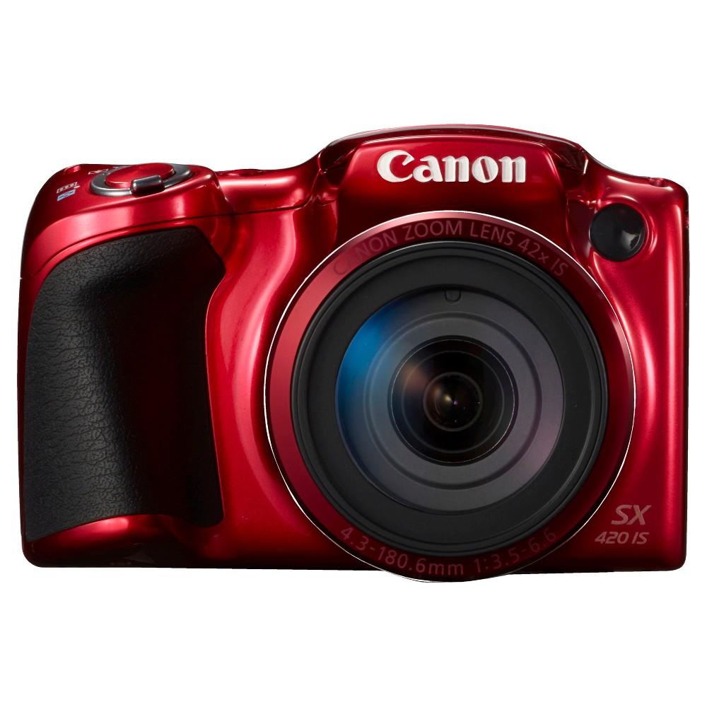 Canon PowerShot SX420 Camera - Red (1069C001)