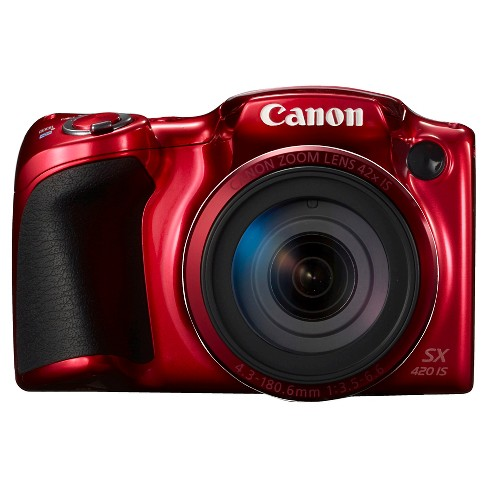 Canon PowerShot SX420 Camera - Red (1069C001) - image 1 of 9