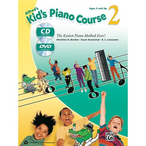 Alfred Alfred's Kid's Piano Course 2 Book, CD & DVD - image 1 of 1