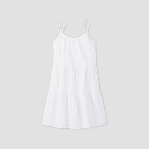 Women's Tiered Tank Dress - Universal Thread™ - image 1 of 4