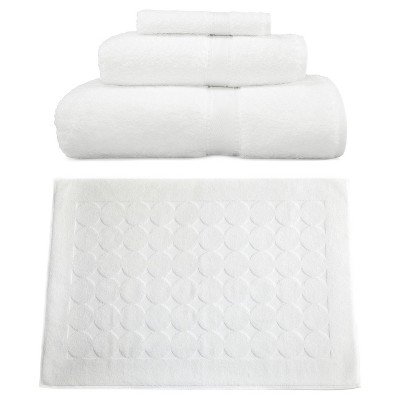 Terry Towel Combination 4pc Set White - Linum Home Textiles®