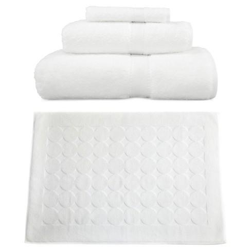 Terry Towel Combination 4pc Set White - Linum Home Textiles - image 1 of 1
