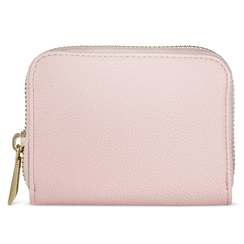 Wallet - A New Day Pink, zip wallets