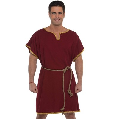 Adult Burgundy Tunic Accessory Halloween Costume