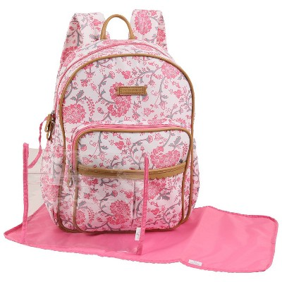 Laura Ashley Diaper Bag Backpack - Paisley