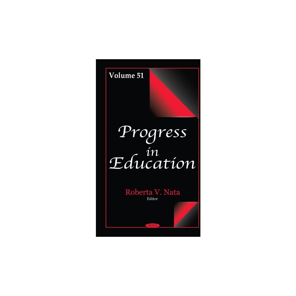 Progress in Education - (Progress in Education) (Hardcover)