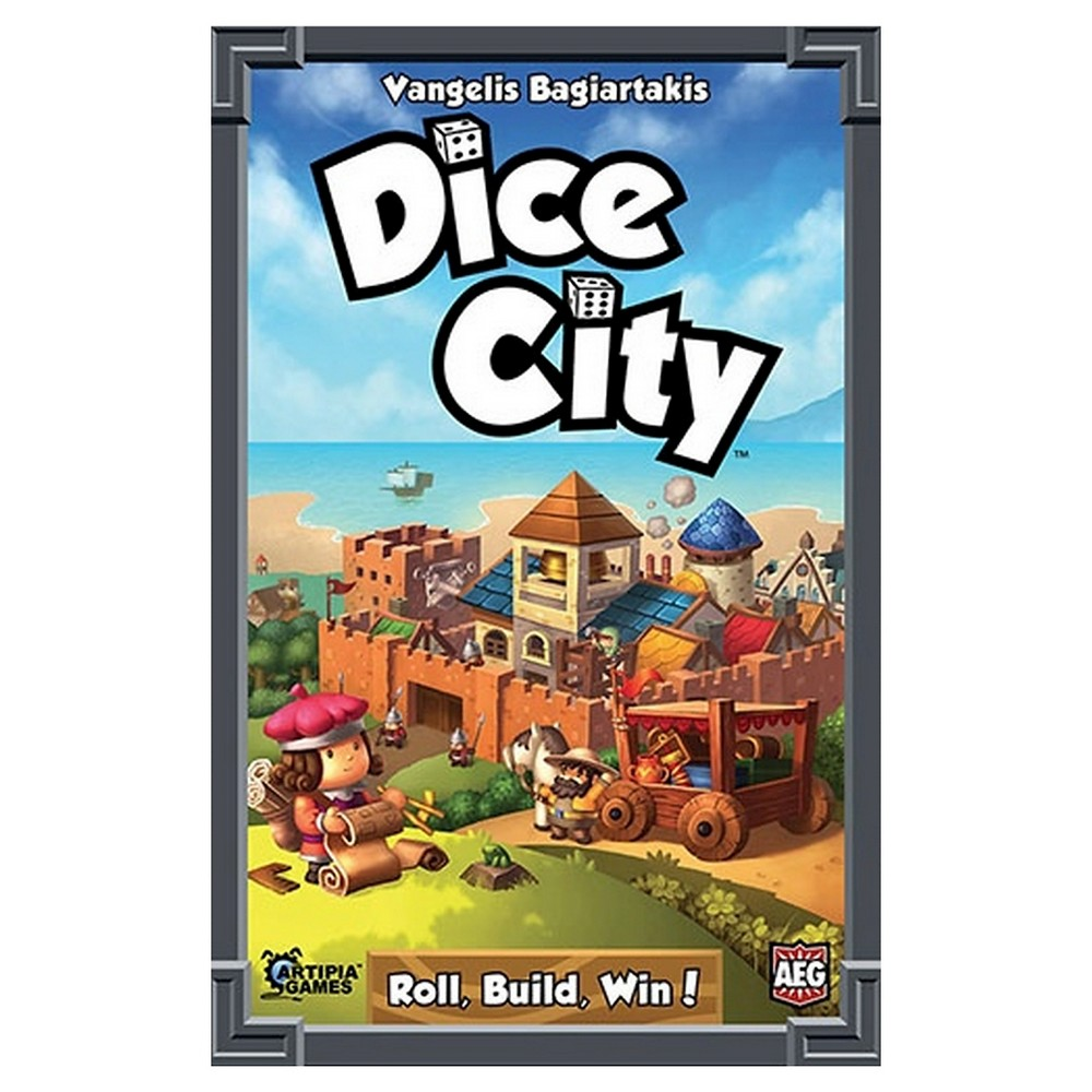 Image of Dice City Strategy Game, Board Games