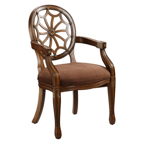 Excellent Christopher Knight Home Florette Accent Chair Brown Gamerscity Chair Design For Home Gamerscityorg
