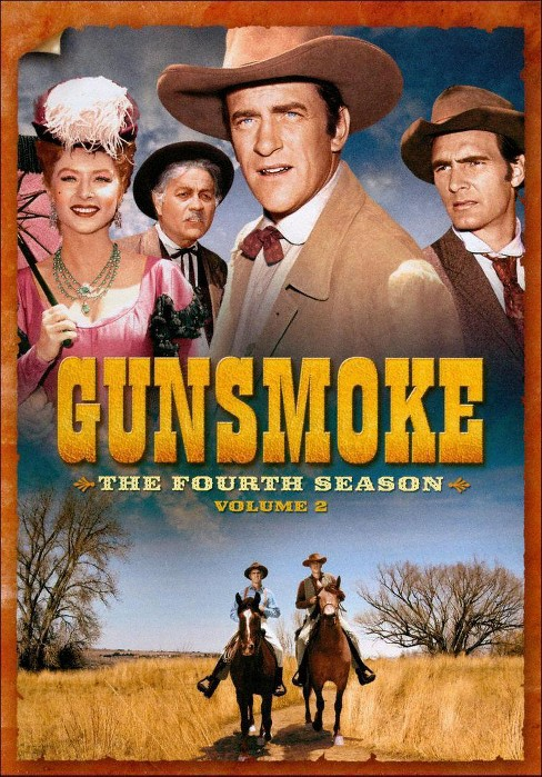 Gunsmoke:Fourth season vol 2 (DVD) - image 1 of 1