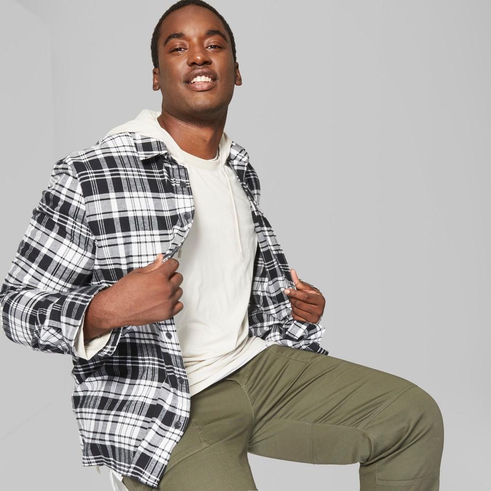Men's Big & Tall Long Sleeve Hooded Pullover T-Shirt - Original Use Beachcomber 3XBT